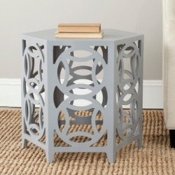 Safavieh Natanya Accent Table, Pearl Blue Gray found on Bargain Bro from Ashley Furniture for USD $126.15