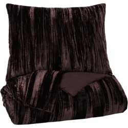 Wanete 3-Piece Queen Comforter Set, Wine found on Bargain Bro Philippines from Ashley Furniture for $189.99