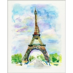 Giclee Eiffel Tower Wall Art, Multi found on Bargain Bro India from Ashley Furniture for $76.00