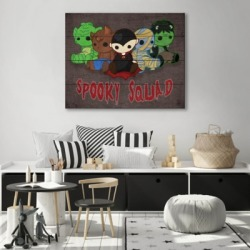 Squad Alpha 20X30 Wood Plank Wall Art, Black found on Bargain Bro India from Ashley Furniture for $184.99