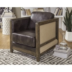 Copeland Accent Chair, Brown