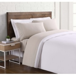 Linen Brooklyn Loom California King Sheet Set, Cream found on Bargain Bro Philippines from Ashley Furniture for $144.99