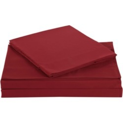 Microfiber Truly Soft Twin Sheet Set, Red found on Bargain Bro Philippines from Ashley Furniture for $27.99