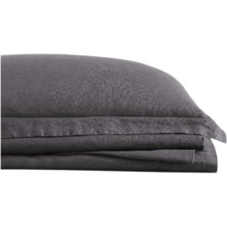 Linen Brooklyn Loom King Sheet Set, Charcoal found on Bargain Bro Philippines from Ashley Furniture for $123.99