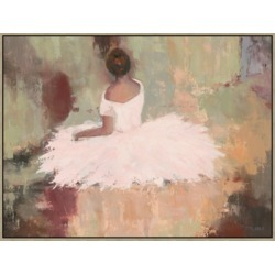 Giclee Seated Ballerina Wall Art, Multi found on Bargain Bro India from Ashley Furniture for $310.99