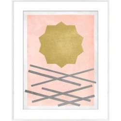 Giclee Sunburst Wall Art, Multi found on Bargain Bro India from Ashley Furniture for $146.99