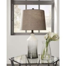 Nollie Table Lamp (Set of 2), Gray found on Bargain Bro India from Ashley Furniture for $99.99
