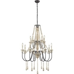 Cassie Small Chandelier, Antique French Cream found on Bargain Bro from Ashley Furniture for USD $364.03