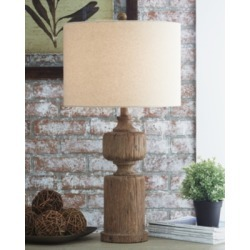 Madelief Table Lamp, Brown found on Bargain Bro Philippines from Ashley Furniture for $49.99
