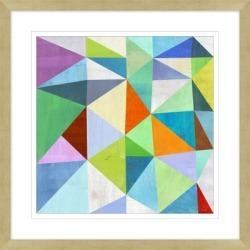 Giclee Colorful Angles Wall Art, Multi found on Bargain Bro India from Ashley Furniture for $117.99