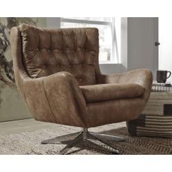 Velburg Accent Chair, Brown