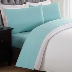 3 Piece Twin XL Sheet Set, Turquoise found on Bargain Bro Philippines from Ashley Furniture for $29.99