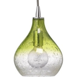 Curved Celedon Pendant - Small, Green found on Bargain Bro Philippines from Ashley Furniture for $264.99