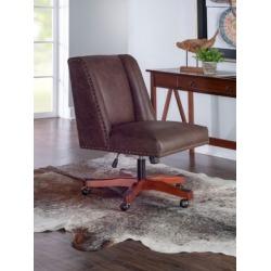 Willis Office Chair, Brown