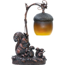 Squirrel And Acorn Lamp, Burwell Bronze found on Bargain Bro from Ashley Furniture for USD $87.39