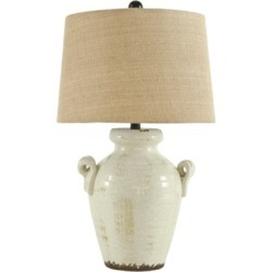 Emelda Table Lamp, Cream found on Bargain Bro Philippines from Ashley Furniture for $78.99