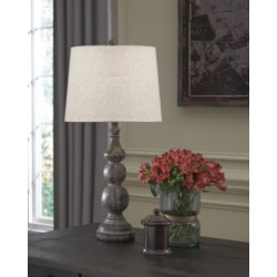 Mair Table Lamp (Set of 2), Antique Black found on Bargain Bro from Ashley Furniture for USD $53.19