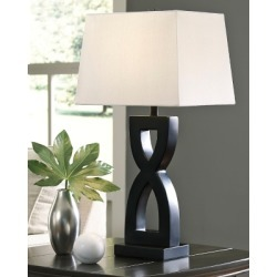 Amasai Table Lamp (Set of 2), Black found on Bargain Bro Philippines from Ashley Furniture for $72.99