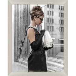 Giclee Audrey Hepburn Wall Art, Gray/Black found on Bargain Bro Philippines from Ashley Furniture for $341.00