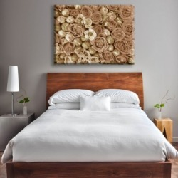 Garden Alpha 20X24 Canvas Wall Art, Brown found on Bargain Bro India from Ashley Furniture for $119.99