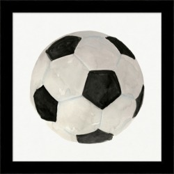 Giclee Soccer Ball Wall Art, Black/White found on Bargain Bro India from Ashley Furniture for $131.99