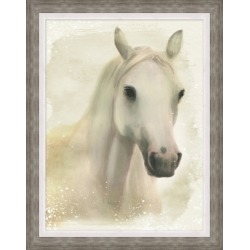 Giclee Dreamy Horse Wall Art, Gray/White found on Bargain Bro India from Ashley Furniture for $272.99