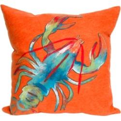 Spectrum II Crayfish Indoor/Outdoor Pillow, Orange