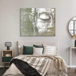 Painted Buddha Beta 20X24 Wood Plank Wall Art, Gray found on Bargain Bro India from Ashley Furniture for $159.99
