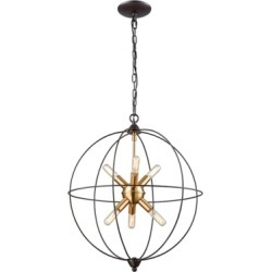 Loftin Chandelier, Oil Rubbed Bronze found on Bargain Bro from Ashley Furniture for USD $142.11