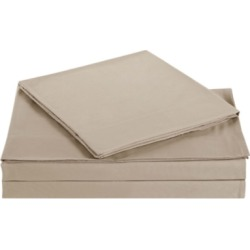 Microfiber Truly Soft Twin Sheet Set, Khaki found on Bargain Bro Philippines from Ashley Furniture for $27.99