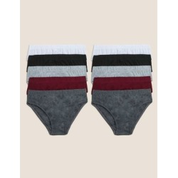 Marks & Spencer 10 Pack Cotton Briefs (2-16 Yrs) - Claret - 9-10 Years found on Bargain Bro Philippines from Marks and Spencers - US for $16.50