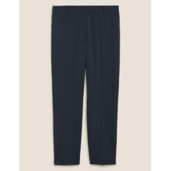 Marks & Spencer Curve Straight Leg Ankle Grazer Trousers - Dark Navy - US 14 found on Bargain Bro India from Marks and Spencers - US for $42.50