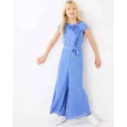 Marks & Spencer Pleated Jumpsuit (6-16 Yrs) - Blue - 7-8 Years found on Bargain Bro Philippines from Marks and Spencers - US for $45.00