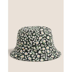 Marks & Spencer Cotton Bucket Hat - Black Mix - Small-Medium found on Bargain Bro India from Marks and Spencers - US for $26.00