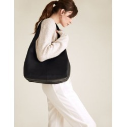 Marks & Spencer Leather 3 Part Construction Shoulder Bag - Black - One Size found on Bargain Bro India from Marks and Spencers - US for $155.00