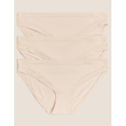 Marks & Spencer 3pk Flexifit™ Modal Bikini Knickers - Soft Opaline - US 10 found on Bargain Bro India from Marks and Spencers - US for $28.00