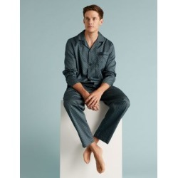 Marks & Spencer Pure Cotton Pyjama Set - Teal - US M found on Bargain Bro India from Marks and Spencers - US for $47.50