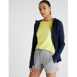 Marks & Spencer Cotton High Waisted Cargo Shorts - Grey Marl - US 2 found on Bargain Bro Philippines from Marks and Spencers - US for $30.00