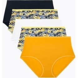 Marks & Spencer 5pk Microfibre Daisy Print Full Briefs - Navy Mix - US 8 (UK 12) found on Bargain Bro Philippines from Marks and Spencers - US for $21.00