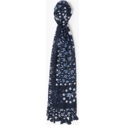 Marks & Spencer Western Tassel Scarf - Navy Mix - One Size found on Bargain Bro India from Marks and Spencers - US for $26.00
