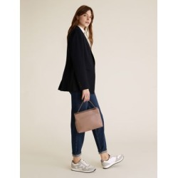 Marks & Spencer Leather Cross Body Bag - Mushroom - One Size found on Bargain Bro India from Marks and Spencers - US for $105.00