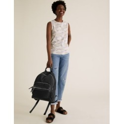 Marks & Spencer Nylon Zip Backpack - Black - One Size found on Bargain Bro India from Marks and Spencers - US for $77.50