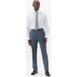 Marks & Spencer Blue Regular Fit Trousers - Blue - US 44in found on Bargain Bro Philippines from Marks and Spencers - US for $105.00