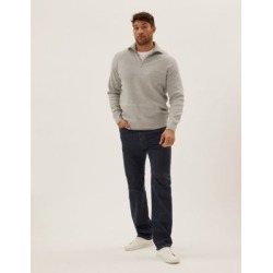 Marks & Spencer Big & Tall Regular Fit Stretch Jeans with Stormwear™ - Indigo - 48in waist found on Bargain Bro India from Marks and Spencers - US for $60.00