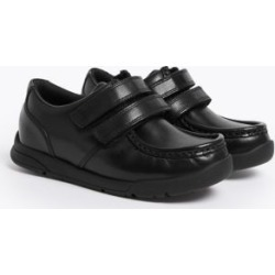 Marks & Spencer Kids' Leather Freshfeet™ School Shoes (8 Small - 1 Large) - Black - US 10.5 (UK 10 Small) found on Bargain Bro Philippines from Marks and Spencers - US for $50.00