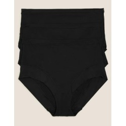 Marks & Spencer 3pk Flexifit™ Modal Full Briefs - Black - US 12 found on Bargain Bro India from Marks and Spencers - US for $28.00