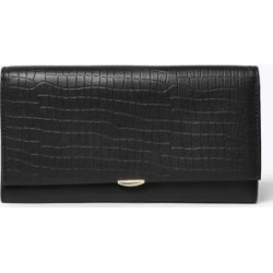 Marks & Spencer Leather Croc Effect Cardsafe™ Purse - Black - One Size found on Bargain Bro India from Marks and Spencers - US for $42.50