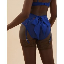 Marks & Spencer Ditsy Floral Lace Suspender with Bow - Blue Mix - US 12 found on Bargain Bro from Marks and Spencers - US for USD $18.62