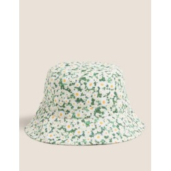 Marks & Spencer Cotton Bucket Hat - Yellow Mix - Small-Medium found on Bargain Bro India from Marks and Spencers - US for $26.00