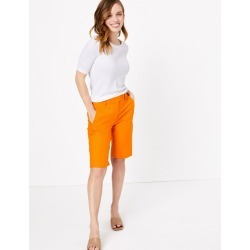 PETITE Cotton Chino Shorts found on MODAPINS from Marks and Spencers - US for USD $32.50